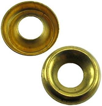 # 12 Brass Countersunk Finishing Washers (Kasten von 100)