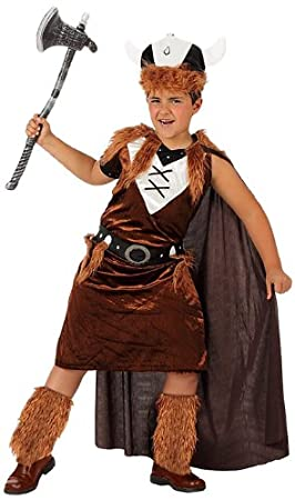 Atosa - Disfraz de vikingo para niño, talla 140 (8422259107101 ...