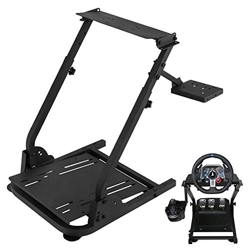 (VEVOR G920 Racing Steering Wheel Stand Pro Shifter Mount Logitech G27/G25, G29 Gaming Wheel Stand Thrustmaster,Wheel Pedals NOT Included Racing Wheel Stand (Stand, G920/G25/G27/G29))
