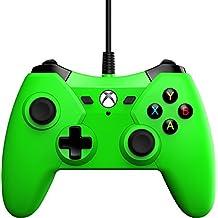 PowerA PWA-A-01400 Controle com Fio, Verde - Xbox One