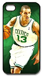 icasepersonalized Personalized Protective Case for iPhone 4/4S - Delonte Maurice West, NBA Boston Celtics #13