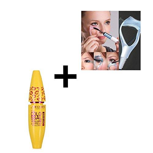 Cosmetic Makeup Black Mascara Eyelash Extension Length Long Curling Eye Lashes