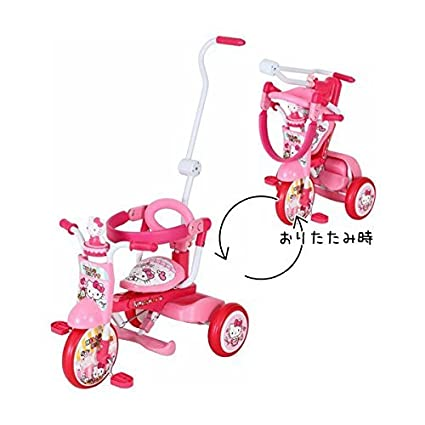 Amazon.com: Hello Kitty – Triciclo plegable All-in-One Up ...