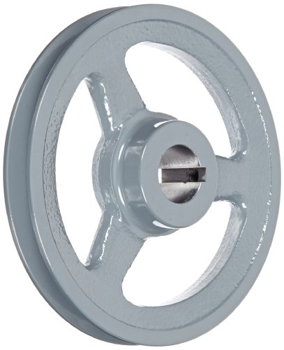 Gates AK61 Light Duty Spoke Sheaves, AK Type, 5.95'' OD, 1 Groove, 1'' Bore by Gates