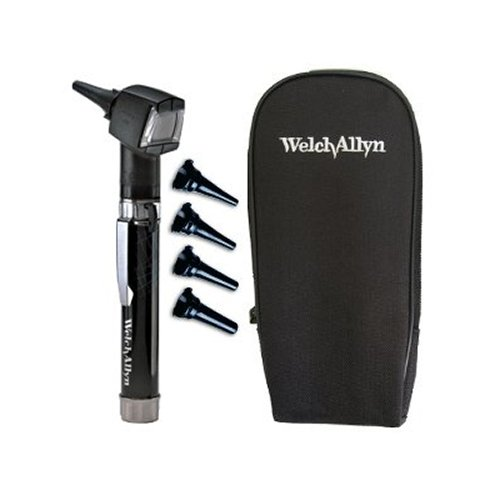 Welch Allyn Diagnostic Otoscope Set - PocketScope Junior with Handle and Soft Case