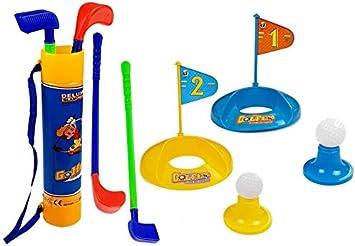 BSD Juguete Deportivo, Juego de Jardin, Juego de Golf para Niños, Set de Golf para Niños: Amazon.es: Juguetes y juegos
