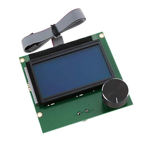 Tubayia - Panel de Control con Pantalla LCD y Cable para Impresora ...