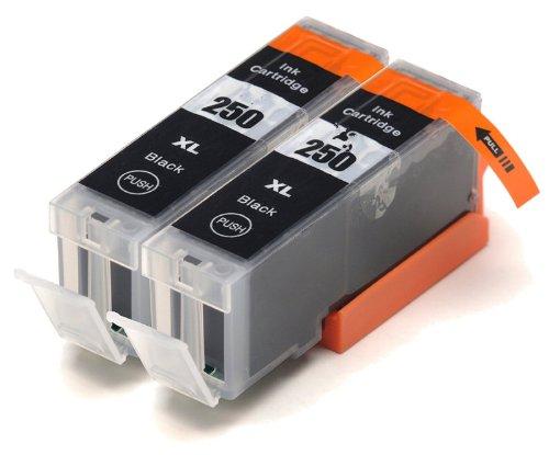 INKTONER PGI 250PGBK cartridges Cannon Printers