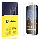 Topnow [2 Packs] for Google Pixel 3a Screen Protector, [Full Coverage] [Bubble-Free] [Alignment Frame Easy Installation] with Lifetime Replacement Warranty