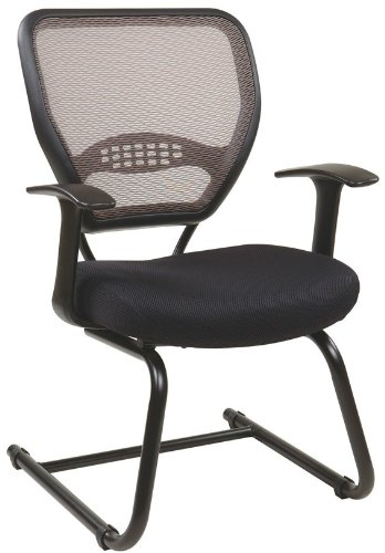 Space Seating Professional Latte AirGrid Visitors by Office Star