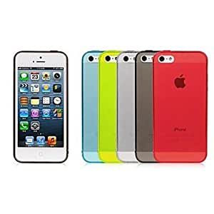 GOG Ultrathin Transparent TPU Case for iPhone 5/5S (Assorted Color)