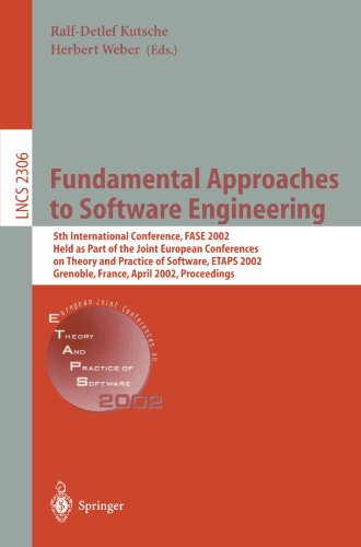 Fundamental Approaches to Software Engineering: 5th International Conference, FASE 2002, Held as Part of the Joint Europ