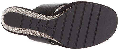 Bandolino Womens Sarita Wedge Sandal Black 9bBI4