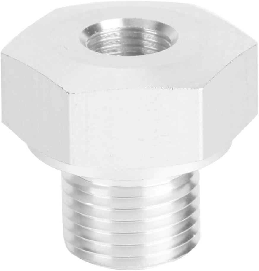Yctze Adaptador del sensor de presi/ón de aceite conector del adaptador de intercambio del motor Accesorios de aluminio para motores autom/áticos M16x1.5 a 1//8 NPT para el motor LS