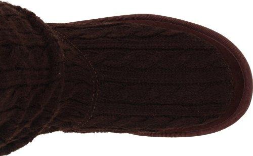 Skechers Keepsakes Blur 46653 CHOC - Botas de tela para mujer Marrón