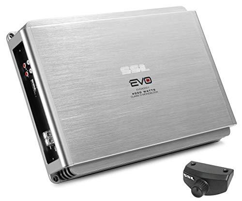 Soundstorm SSL EVO4000.1 4000W Monoblock Class D Car Audio Amplifier Power Amp