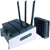 HelleX -Network Devices Cooling Management Station For Cable Modem And WiFi Router