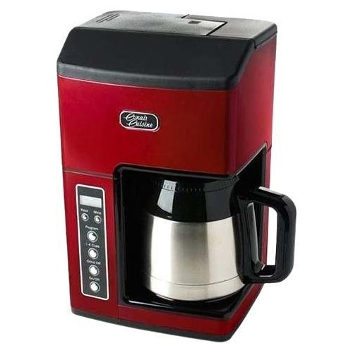 Cuisinart CC-10RFR Cuisinart CC-10FRR Grind & Brew 10-Cup Coffeemaker (Certified Refurbished), Red (Cuisinart Grind Brew Carafe compare prices)