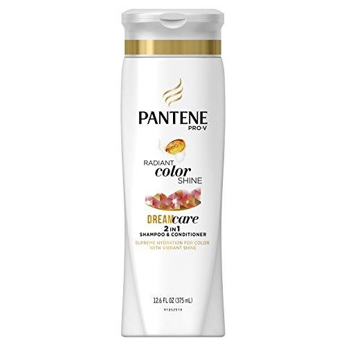 Pantene Pro-V Radiant Color Shine Dream Care 2in1 shampoo & Conditioner with vibrant shine 12.6 Oz by Pantene