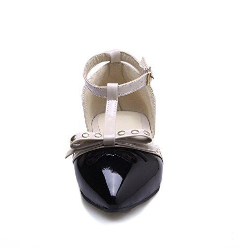 Sandales 36 5 Femme Noir EU BalaMasa Noir Compensées RCvxqOwO