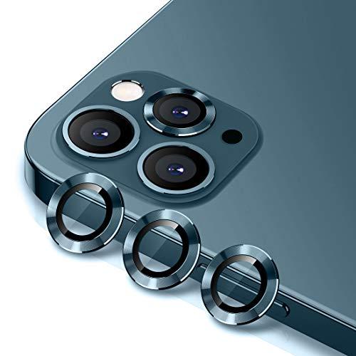 protectores de lentes para iphone 12 pro pacific blue