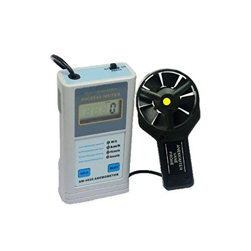 Teren-AM-4826 Anemometer Hand Held Wind Speed Rate Meter Airflow Velocity Gauge