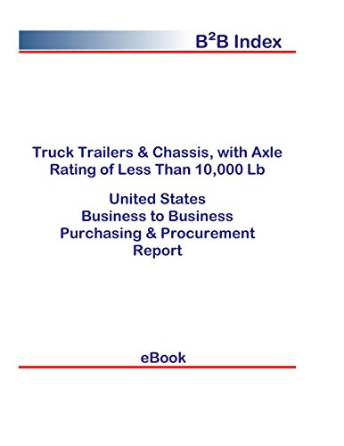 Truck Trailers & Chassis, with Axle Rating of Less Than 10,000 Lb B2B United States: B2B Purchasing + Procurement Values in the United States