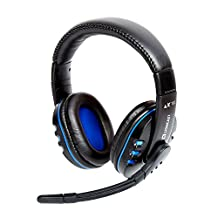 GIGA Fixxoo Lx16 Evo Gaming Headset For Ps4, Xbox One, Pc Headphones With Microphone