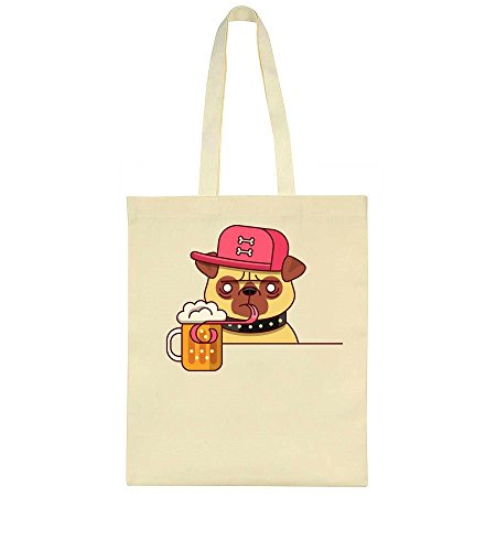 Bag Cool Drinking Cool Tote Pug Pug Beer 6Tq6nYUZ