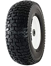 "Marathon 13x5.00-6"" Flat Free Tire on Wheel, 3"" Hub, 3/4"" Bearings"