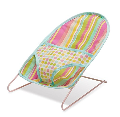 Manhattan Toy Baby Stella Bouncy Chair Nurturing Doll Accessory (Infant Bouncy Toy)