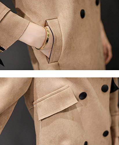 Automne Sp Manteau Coupe Trench Printemps Femme Jacke Fashion RqwEn41H