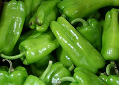 30 Cubanelle Sweet Frying Pepper Seeds by Stonysoil Seed Company