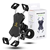 visnfa New Bike Phone Mount with Stainless Steel