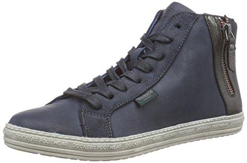 Dockers By Gerli 32ln213-636430 Dames Hautes Chaussures De Sport Bleu (bleu 600)