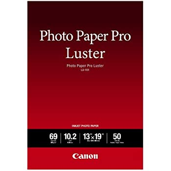 """Canon Luster Photo Paper, 13"""" x 19"""" (50 Sheets) (LU-101 13X1950)"""