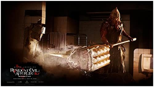 Resident Evil Afterlife 2010 8 Inch X10 Inch Photo Axeman At