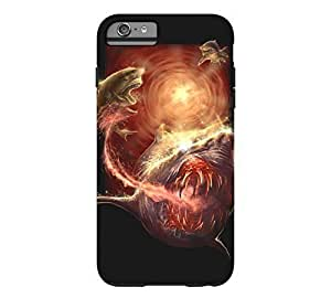 #5 Tiger Shark iPhone 6 Plus Black Tough Phone Case - Design By Humans by runtopwell