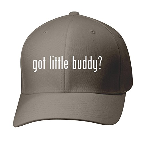 BH Cool Designs Got Little Buddy? - Baseball Hat Cap Adult, Dark Grey, Small/Medium