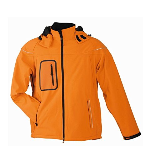 Winter In Softshell Uomo Orange Invernale Giacca Men's Jacket Xq1Zw4P8x