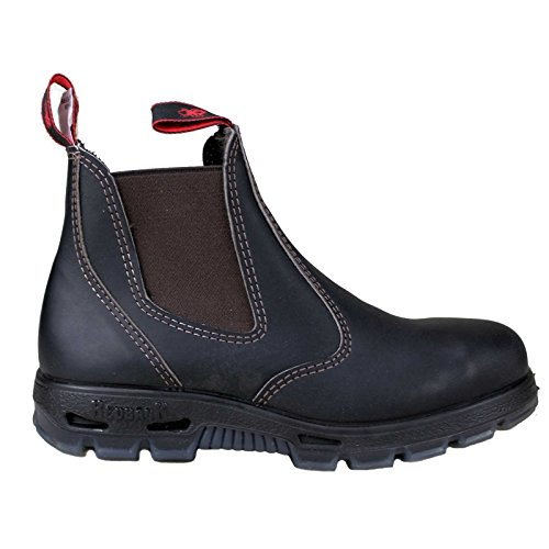 steel cap claret toe redback with usbok chelsea from boots qRFw11I