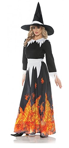 Women's Burning Salem Witch Costume - (Spellbound Witch Costumes)