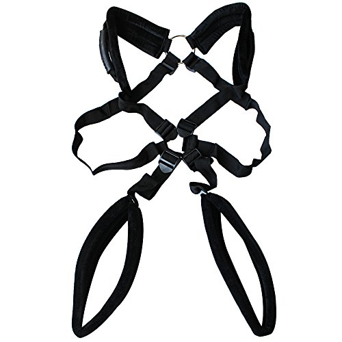 Iefiel Strong Nylon Adults Fantasy Stand Harness Love Swing Couples