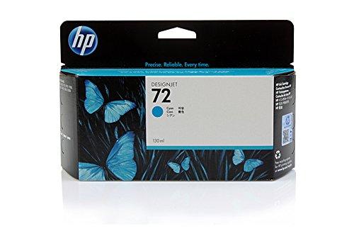 HP DesignJet T 1100 PS 24 Inch -Original HP C9371A / 72 - Cyan Ink Cartridge -