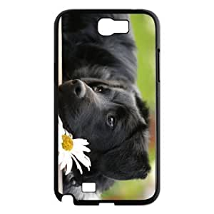 ALI Diy Back Dog For SamSung Galaxy S4 Case Cover [Pattern-1]