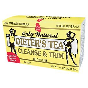 - Only Natural Dieters Cleansing Tea - Lemon, 1.5 Ounce