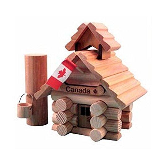 Sugar Shack Miniature Log (Western Red Cedar Log)