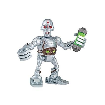 Tortugas Ninja -Kraang y Leatherhead Figuras de acción ...