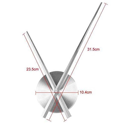 tjapalo/® s-pkm475 Wanduhr Wandtattoo Uhr mit Uhrwerk Wandsticker Nimm dir Zeit f/ür die Dinge die dich Gl/ücklich machen m Kristallen u Uhrwerk