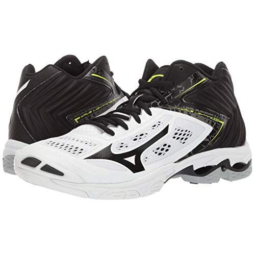 mizuno womens volleyball shoes size 8 x 3 foot with yellow letra